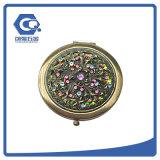 Fördernder Geschenk-mini Pocket Spiegel-Metallrahmen-kosmetischer Spiegel für Beutel