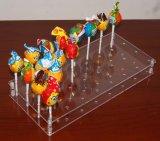 32の穴のアクリルのケーキの破裂音のロリポップの陳列台