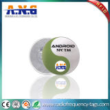 Outdoor Customize Proximity NFC Sticker Tags Ntag213 on Metal