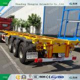 Aanhangwagens van de Vrachtwagens van de Container van de Chassis van de Assen van Fuwa van Shengrun 40FT 40FT de Skeletachtige