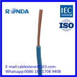 H07V-K flexibler Belüftung-elektrischer Draht 1.5 SQMM