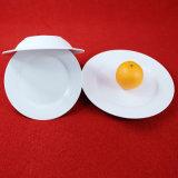 16 PCS Conjunto jantar em cerâmica Jantar de porcelana branca definida