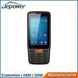 Chamada de voz do telefone 4G 1d 2D Scanner de código de barras do Código de Barras Terminal Android PDA