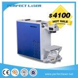 2017 Hot Sale Portable 20W 30W 50W Marqueur laser en fibre de métal avec système rotatif