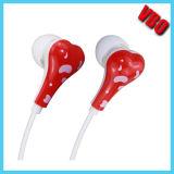 2014 Atacado fone de ouvido intra-auricular com microfone e controle remoto para Apple Earphone