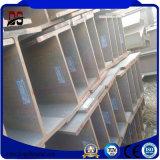 H раздела оцинкованной стали в стальной конструкции склад