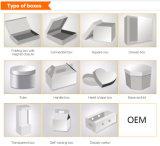 Diseño de Moda Custom Set de Regalo de lujo Libro Blanco de embalaje Caja de cosméticos
