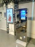 стойка 32 '' 42 '' 55 '' 65 '' 75 '' 80 '' или установленное стеной волшебное зеркало рекламируя индикацию