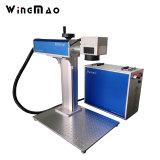 Компактная мини-Fibre станок для лазерной маркировки 20W 30W волокна лазерный украшения металла из нержавеющей стали машины engraver лазера