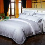 Les textiles de coton blanc ordinaire de l'hôtel Hôtel Set de Literie Linge de lit