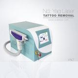 1064/532nm Q-switched Nd : YAG Laser Tattoo dépose avec poupée noire Rajeunissement de la peau (VN-7)