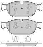 Plaquette de frein à disque Thermo calme avant Audi A6 A7 A8