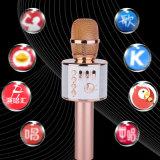 Beweglicher drahtloser StereoBluetooth Lautsprecher des Karaoke-Mikrofon-Q37