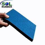 Résistance aux UV Terrain de jeux extérieur carrelage de sol en caoutchouc