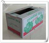 Навощенная Corrugated коробка с изготовленный на заказ логосом или меткой печати