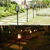 Nueva luz solar de la antorcha del jardín 96LED con la llama que oscila (RS127)