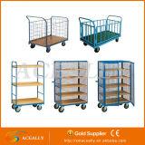 2016 Nouveau rouleau de table pour la logistique de transport de conteneurs de trolley