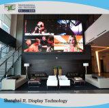 Visualizzazione di LED esterna dell'interno ultra chiara dell'affitto di Ledsolution P6