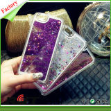 Coperchio del cellulare della cassa del telefono mobile con i branelli di cristallo e lo scintillio