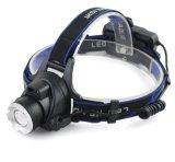 Fischen-Taschenlampen-Reithauptscheinwerfer 2017 der Leistungs-LED heller