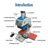 ロゴのステッカーのための対端末の熱の出版物機械