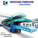 半交通機関の販売の低いベッドのトレーラーのためのトラックのトレーラー