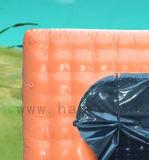 شكل قابل للنفخ برتقاليّ مربّعة صنع وفقا لطلب الزّبون خيمة لأنّ نشاط