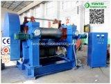 Le moteur de 360 x 900 millimètres sous Rolls ouvrent le moulin de mélange pour le caoutchouc et le plastique