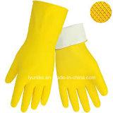 Против кислоты перчатки Кухонные мойки домашних хозяйств Латексные перчатки