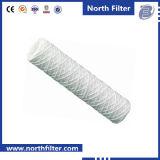 Elemento de filtro da água da ferida da corda da fibra de vidro de Xinxiang