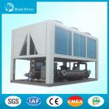 Condicionador de ar marinho industrial de refrigeração ar do refrigerador de água do parafuso com bomba de calor R407c