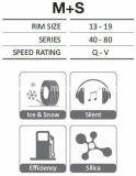 Autoreifen, 315/35r20, Gummireifen des Schnee-275/40r20 für BMW