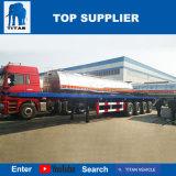 Veículo do titã - eixo 4 de 30 toneladas do recipiente reboque Flatbed Semi para a venda