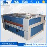 Máquina de estaca plástica do laser do couro do papel elevado da procissão