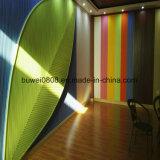 Différentes couleurs revêtement mural WPC Panneaux muraux