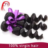 新製品のモンゴルに緩い波の人間の毛髪の編むこと