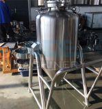 Réservoir de stockage en acier inoxydable avec roulettes mobile
