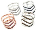 925 순은 반지 은 반지 보석 도매 R10540