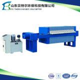Máquina da imprensa da placa e de filtro do frame para o filtro do amido de batata doce