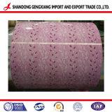 La bobina de Flor de impresión e impresión de la bobina de acero galvanizado para la construcción