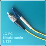 FC-LC PC Cordon de raccordement à fibre optique monomode