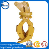 Rotation Timber Grab / Log Grab / Wood Grab para Excavadora Caterpillar / Hitachi / Komatsu / Hyundai / Kobelco