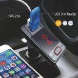 De dubbele Zender van de FM van de Speler van de Auto van het Voertuig van de Haven USB 2.1A MP3 Draadloze met het Laden van de Auto de Micro BR van het Auxine van de Steun USB van de Functie