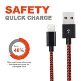 câble de données Ultra tressé en nylon durable pour l'iPhone X / 8 /8/ 7/7 plus plus