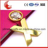 Angebot-freier Entwurf des Kleid-Material-Zeichen-preiswerten Metalls Keychain