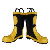 De hoge Laarzen van de Veiligheid van de Brandweerman van de Enkel voor Brandbestrijding