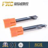 Las flautas de alta velocidad 2 brocas de carburo Herramientas de corte de aluminio