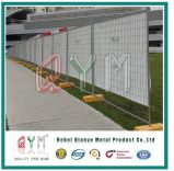 Frontière de sécurité amovible de clôture provisoire de jardin de jardin portatif de frontière de sécurité de jardin