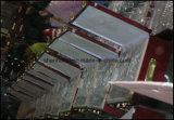 cutelaria de 72PCS 84PCS ajustada com caso de madeira