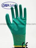 Труда защитные нитриловые перчатки работы